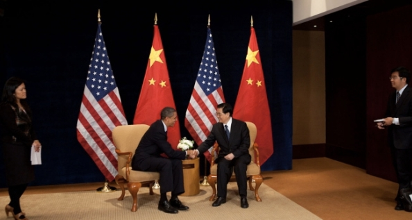 President Hu Jintao and President Barack Obama meet in Seoul.
